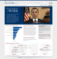 Recovery.gov website